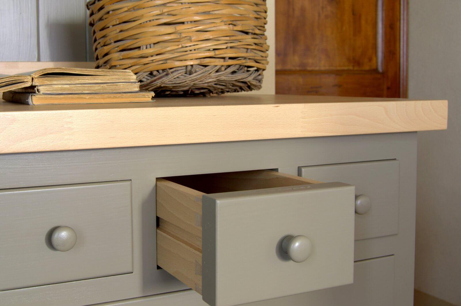 La cucina in stile shaker for Bespoke kitchen cabinets