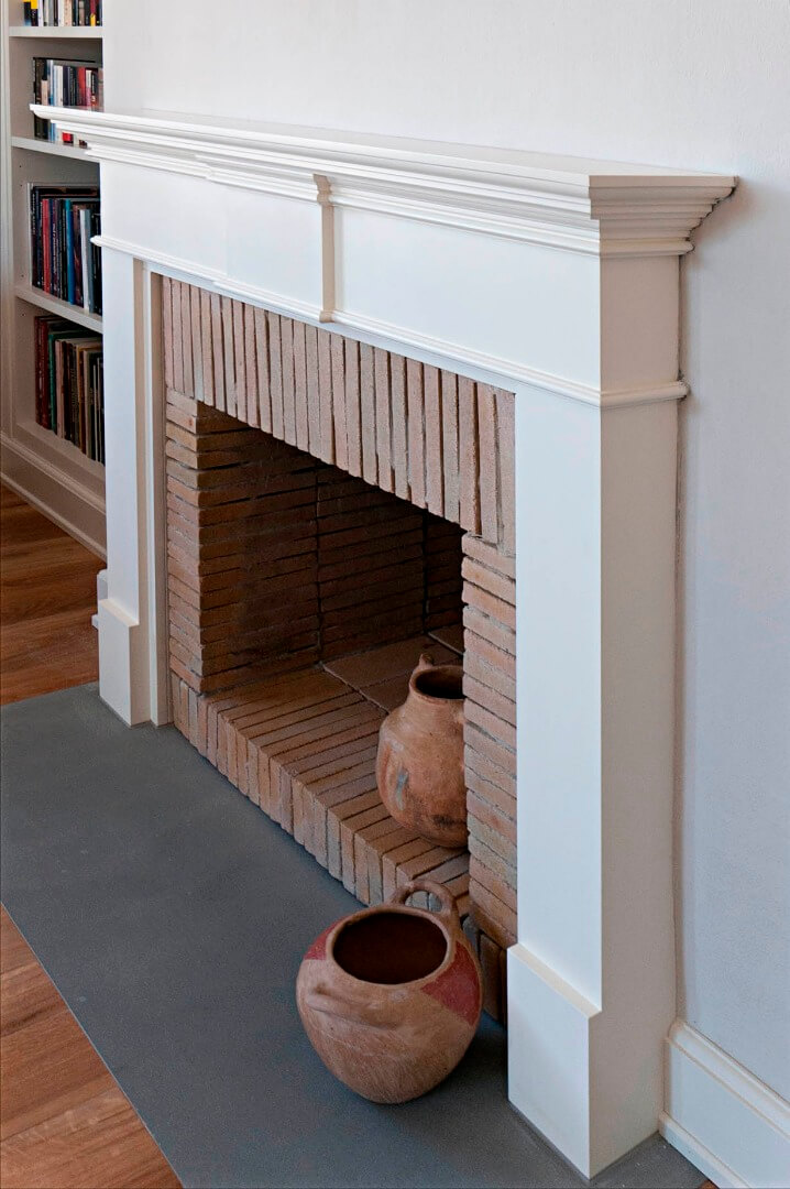 Wooden fireplace mantels for Cornice camino ikea